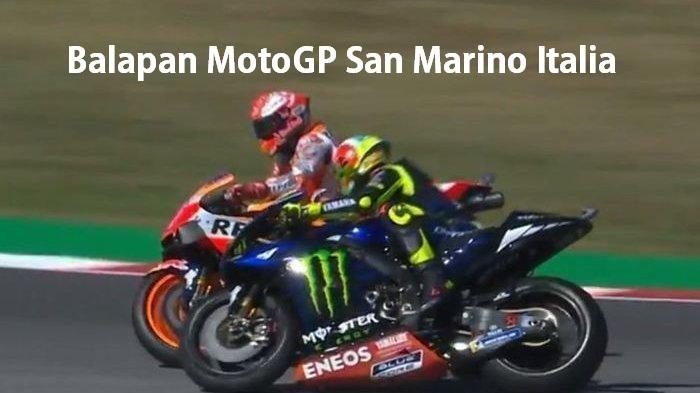 Balapan MotoGP San Marino Italia